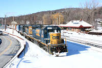 CSX and Croton North station
